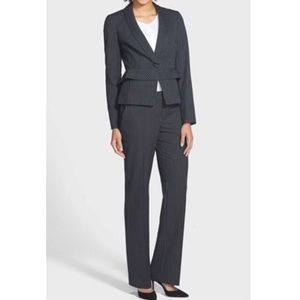 Halogen pinstriped two piece suit